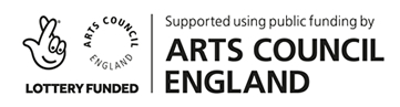 Supported using public funding by the National Lottery through Arts Council England